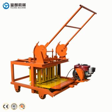 Equipamento de cimento e máquina de moldagem de tijolos oco pequeno fabricante de bloco de cimento