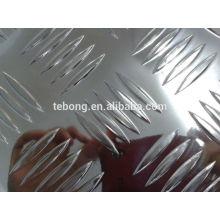 0.5mm 3003/1060 aleación estuco espejo hojas de aluminio y rollos de bobina