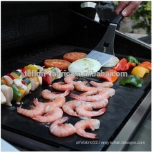 China Manufacturer Barbecue Charcoal Grill Mat Easy Clean 100% Non-Stick BBQ Grill Mat