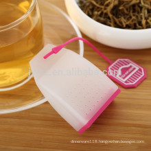 Silicone tea bag dispenser