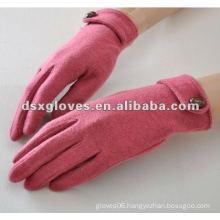 Red Cashmere Lady Gloves
