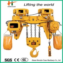 High Working Efficiency 10t Electric Chain Hoist