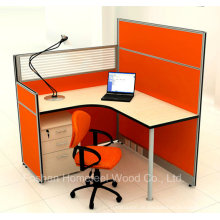 Hot Sales Office Cubicle Einzelpersonen Partition Workstation (HF-YZM026)