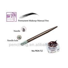 Stylo de maquillage manuel professionnel en cuivre