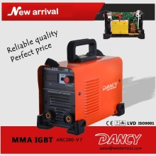 200amps portable mini inverter arc welding machine