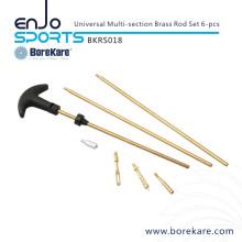 Borekare 6-PCS Universal Multi-seção Brass Rod Set