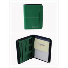 2015 Genuine Leather A4 Business Portfolio with Card Holder (SDB-1319)