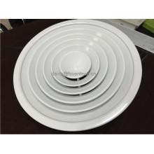 Круглый потолочный диффузор для системы отопления, вентиляции и кондиционирования воздуха