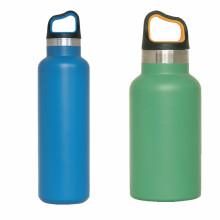 2015 Melhor garrafa de água desportiva livre de bpa de aço inoxidável