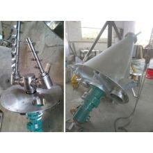 Mezclador cónico del doble-tornillo de la serie de DSH 2017, secador cónico de los SS, mezclador horizontal de la alimentación de la vaca