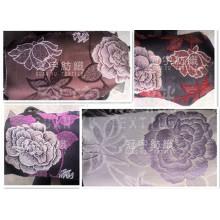 Tejido de chenilla Jacquard Paño de decoración de textiles para el hogar