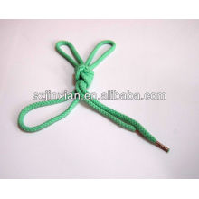 5мм круглые плетеные шнурки с медным наконечником