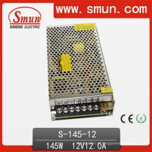 Fonte de alimentação de comutação de saída única de 145W 12V12A