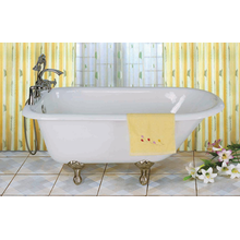 Roll Rim Cast Iron Bathtub
