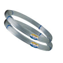 Hot Dipped Galvanized oval wire for arame liso ovalado 17/15 Z-700 Galvanized iron wire Steel Wire