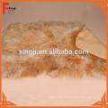 gefärbter mongolischer Lammfellwurf