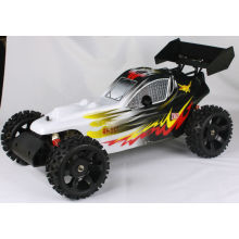 2WD carro elétrico do rc, 1/5th 2.4 G radio bugs rc carro, Brushless RTR RC Buggy
