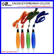 Kundenspezifisches Logo Kunststoff Kugelschreiber mit Lanyard (EP-P8284)