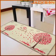Feuerfeste Küchen-weiche einfache Polyester-Boden-Matten