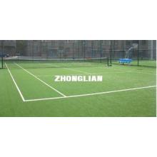 6300Dtex Synthetic Tennis Artificial Grass Turf w/ Yarn 12m