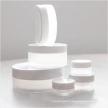 5g 10g 15g 30g 50g 100g 150g 200g 250g Natural White Matte Finish Plastic PP Jar Cream Jar Cosmetic Packaging Jar