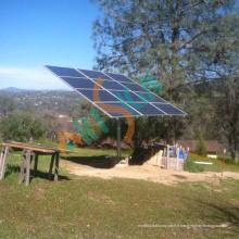 Système de support de poteau solaire pour le support de support de panneau solaire