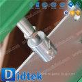 Пневматический привод высокого давления Didtek Стойкий вафельный затвор Zero Downstream Leakage Slurry Knife Gate Valve