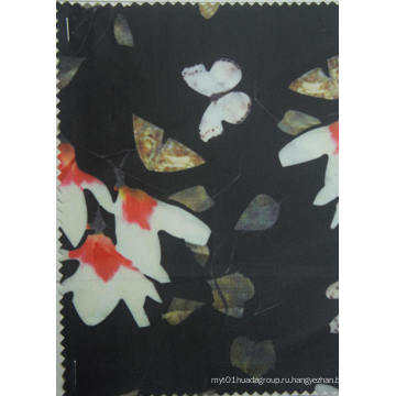 230d Магнолия Цветочный полиэстер печати ткани