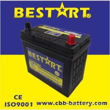 Bateria superior JIS 46b24L-Mf do veículo de Bestart Mf da qualidade 12V45ah