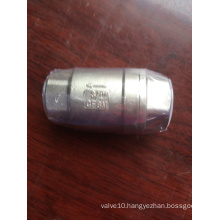 H12W PN16-PN64 Stainless Steel 316 check valve with Rubber seal