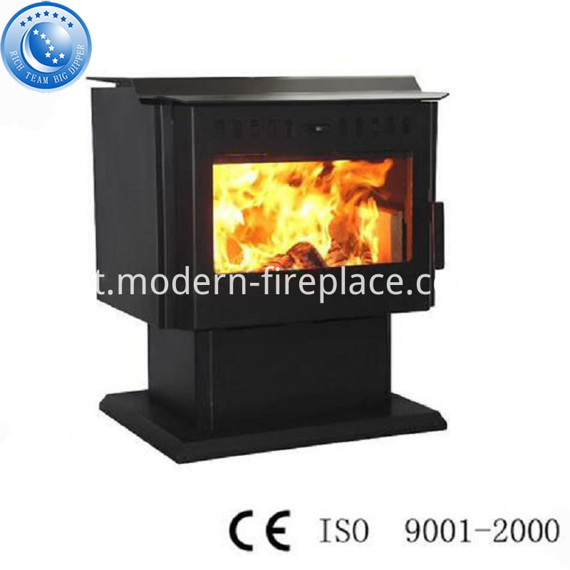 Wood Burning Stoves Steel Plate Contemporary