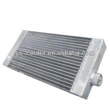 Radiador del aceite para la máquina de construcción / el intercambiador de calor de la pipa doble / las piezas del equipo de construcción
