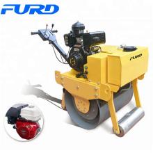Equipo de construcción de carreteras mini vibrador de rodillo de camino de suelo 500KG (FYL-700)