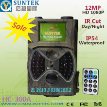 Câmera digital completa da fuga da caça de 12MP 12 Digitas HD infravermelha com 2,0 exposição de HD