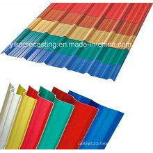Eco-Friendly 3-Layers UPVC Corrugated Thermo Plastic Roofing
