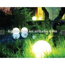 30cm outdoor illuminated garden ball light