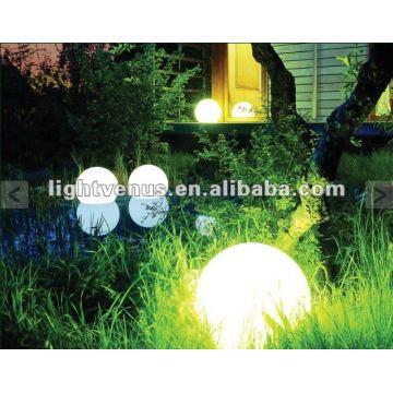 Lumière extérieure de boule de jardin éclairée de 30cm