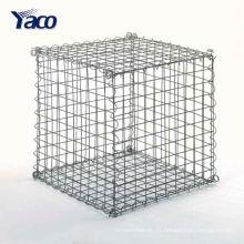 Anticorrosión antienvejecimiento 1 * 1 * 1 M Caja de Gaviones soldada