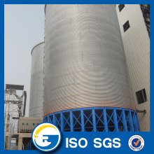 Aeration system Steel cone base small grain silos for sale