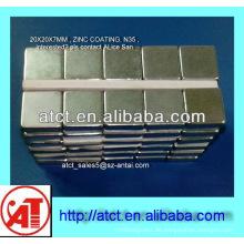 Cube-Neodym-Magneten für Regal, Quadermagnet, Ndfeb magnet