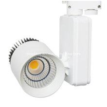 Serie Dos 2/3/4 hilos 20W CREE COB LED Track Light