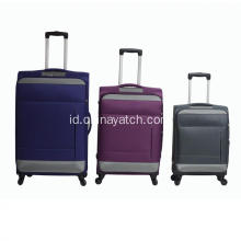 Soft 600D Polyester Suitcase Trolley Luggage