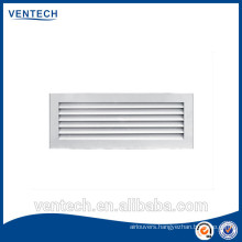 Aluminum air vent door grille