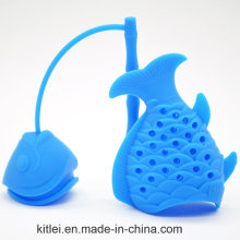 Cute Fish Shape Silicone Tea Infuser Filter Tea Strainer