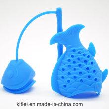 Cute Fish Shape Silicone Tea Infuser Filter Tea Strainer