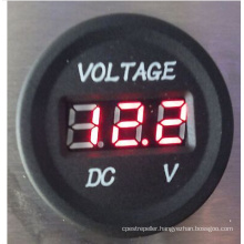 DC 12-24V Digital Voltmeters Car Charger
