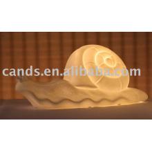 Lampe de table décorative en céramique légère en porcelaine de nuit