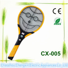 A melhor mosca poderosa do Swatter do mosquito das vendas que mata a raquete do inseto do bastão com luz do diodo emissor de luz