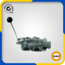 Válvula de control de flujo hidráulico para partidor de troncos y válvula hidráulica
