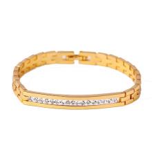 71311 xuping nova moda 18k banhado a ouro pulseira de mulheres